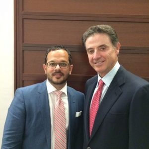 Rick Pitino & Hector Montalvo