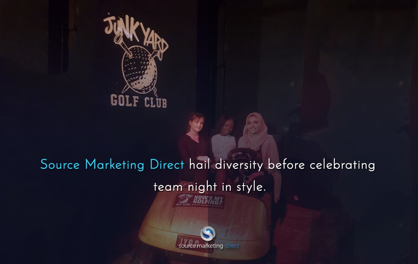 Source Marketing Direct hail diversity before celebrating team night in style