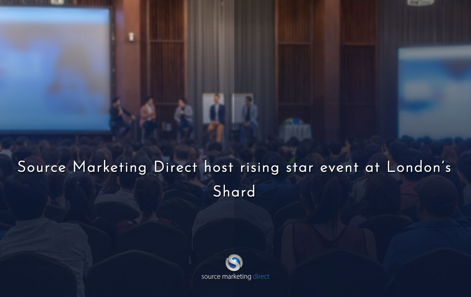 Source Marketing Direct host rising star event at London's Shard.