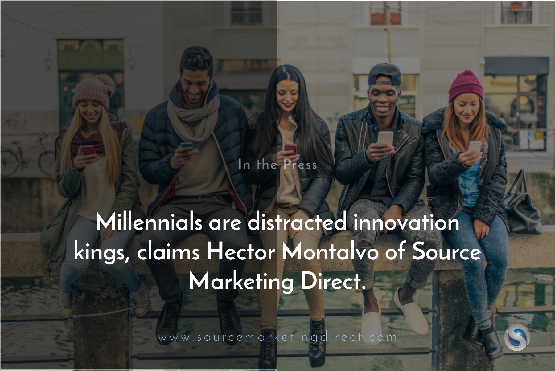 Millennials are distracted innovation kings, claims Hector Montalvo of Source Marketing Direct.